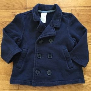 Gymboree soft double-breasted peacoat for baby